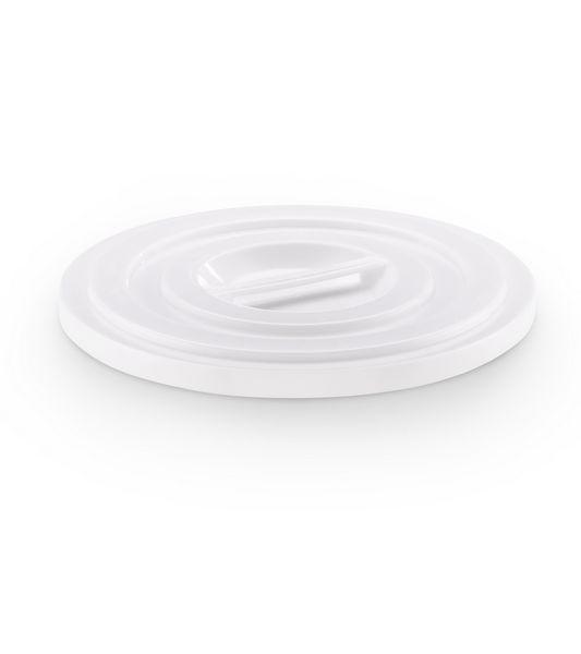 Deckel für Kunststofftonne 100 L naturweiß