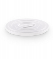 Plastic lid for mixing bucket 100 ltr white