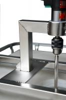 IBC-Traverse Edelstahl V2A für Rührwerke