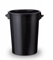 Kunststofftonne 100 L schwarz