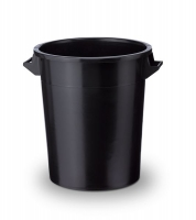 Kunststofftonne 75 L schwarz